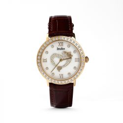 "Jeulia ""Daughter of the Sea"" Fashion Mermaid Women's Watch"