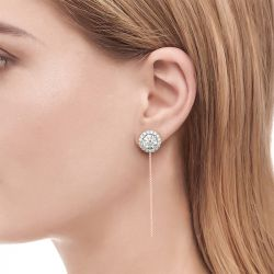 Jeulia Cherished Moment Drop Earrings