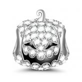 """""""Pumpkin for Halloween"""" Sterling Silver Charm"""